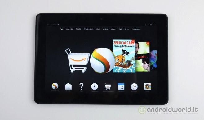Amazon Fire HDX 8.9 recensione 2