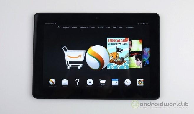 Amazon Fire HDX 8.9 recensione 2