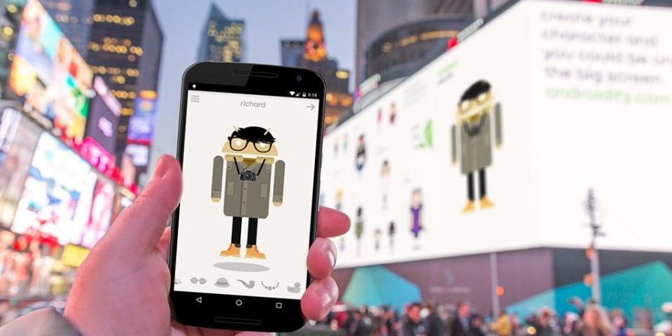 Androidify Times Square