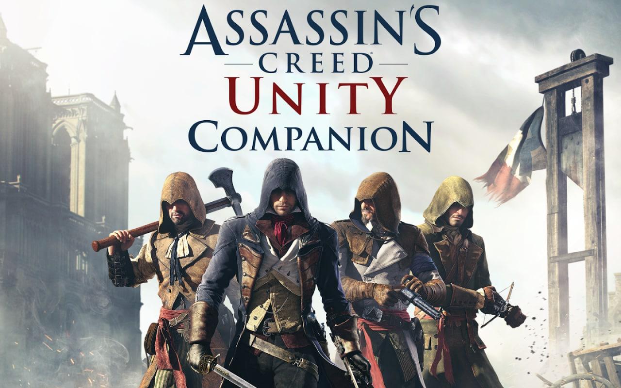Assassin's Creed Unity App Copertina