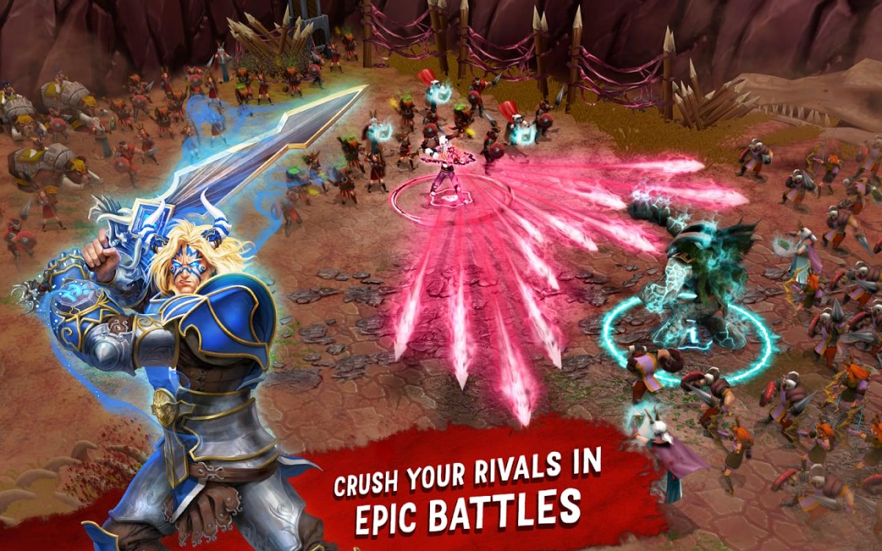 Battle of Heroes: il nuovo mix di strategia e azione di Ubisoft disponibile gratuitamente per Android (foto e video)