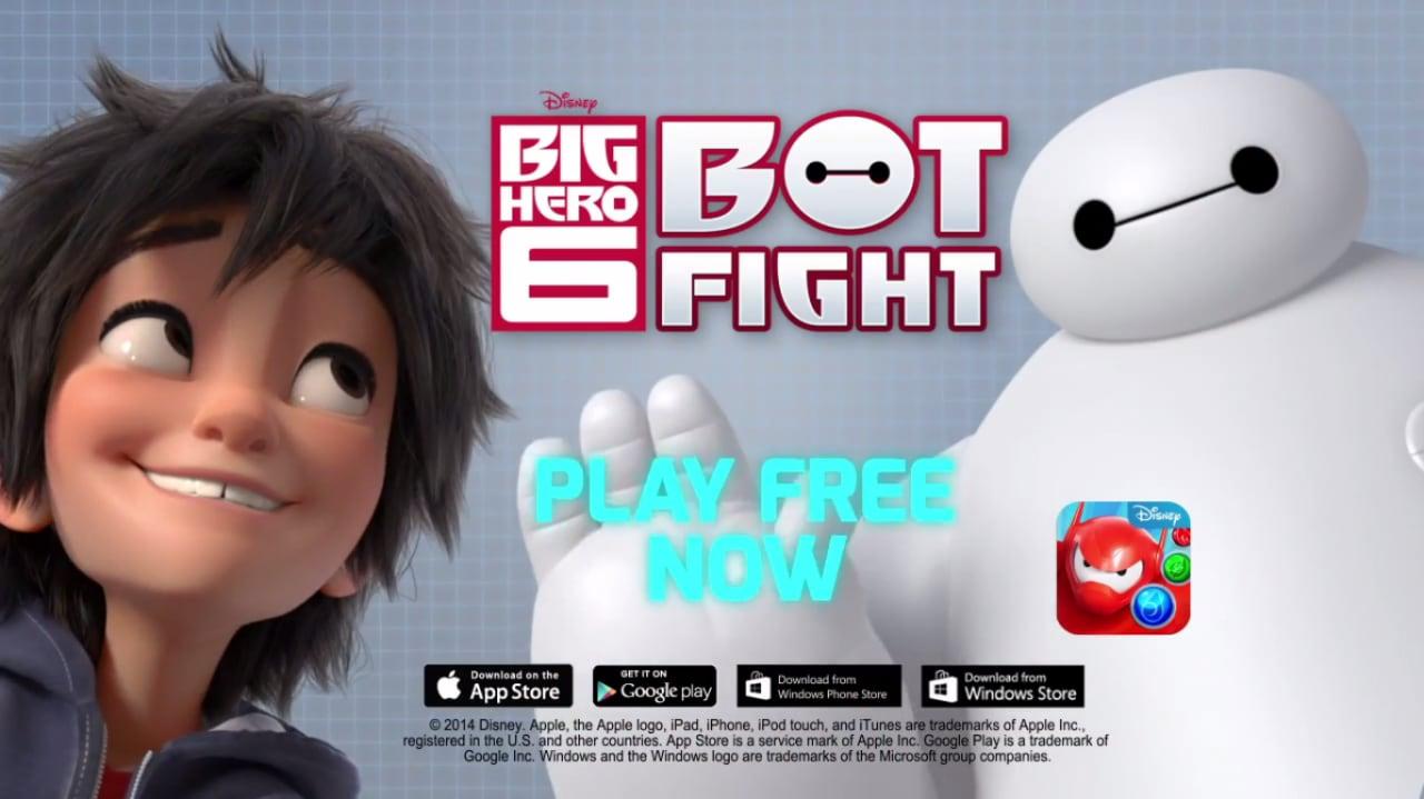 Big Hero 6 Bot Fight Copertina