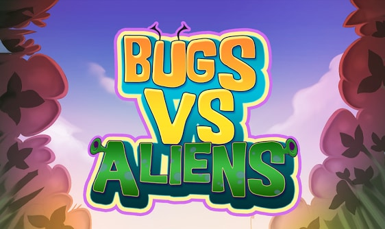 Bugs vs Aliens Mini Title