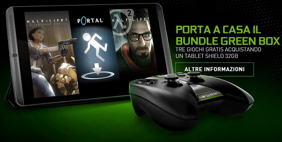 Bundle Green Box NVIDIA Shield Tablet 32 GB