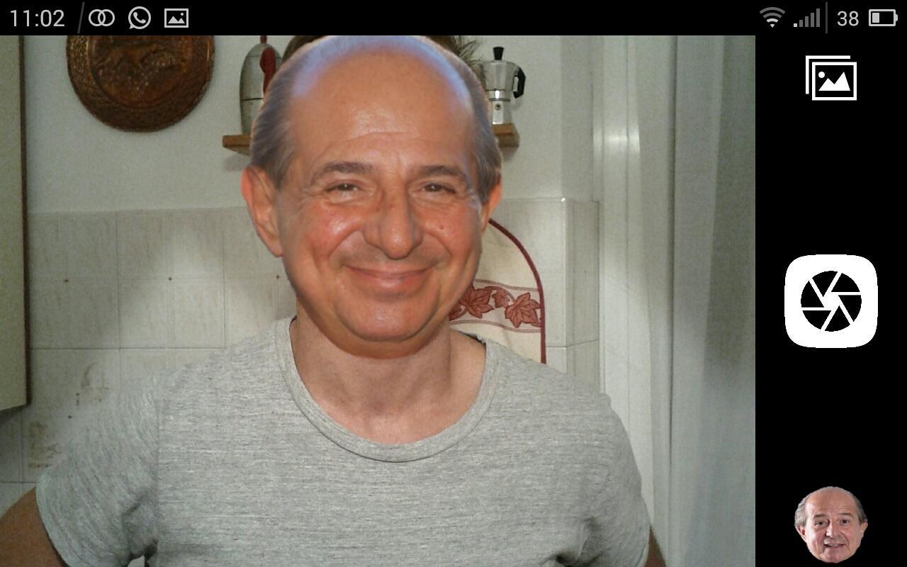 Mai più foto senza Giancarlo Magalli con CAMagally (video)