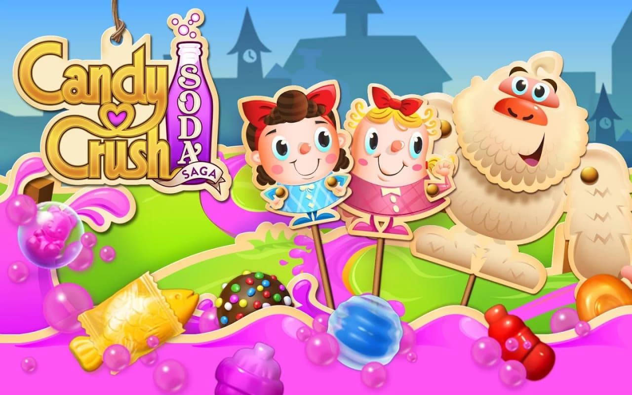 Candy Crush Soda Saga Copertina