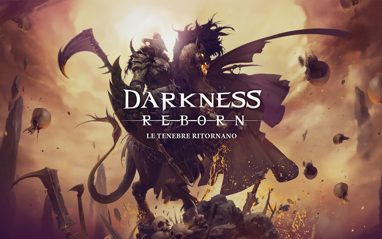Darkness Reborn Copertina
