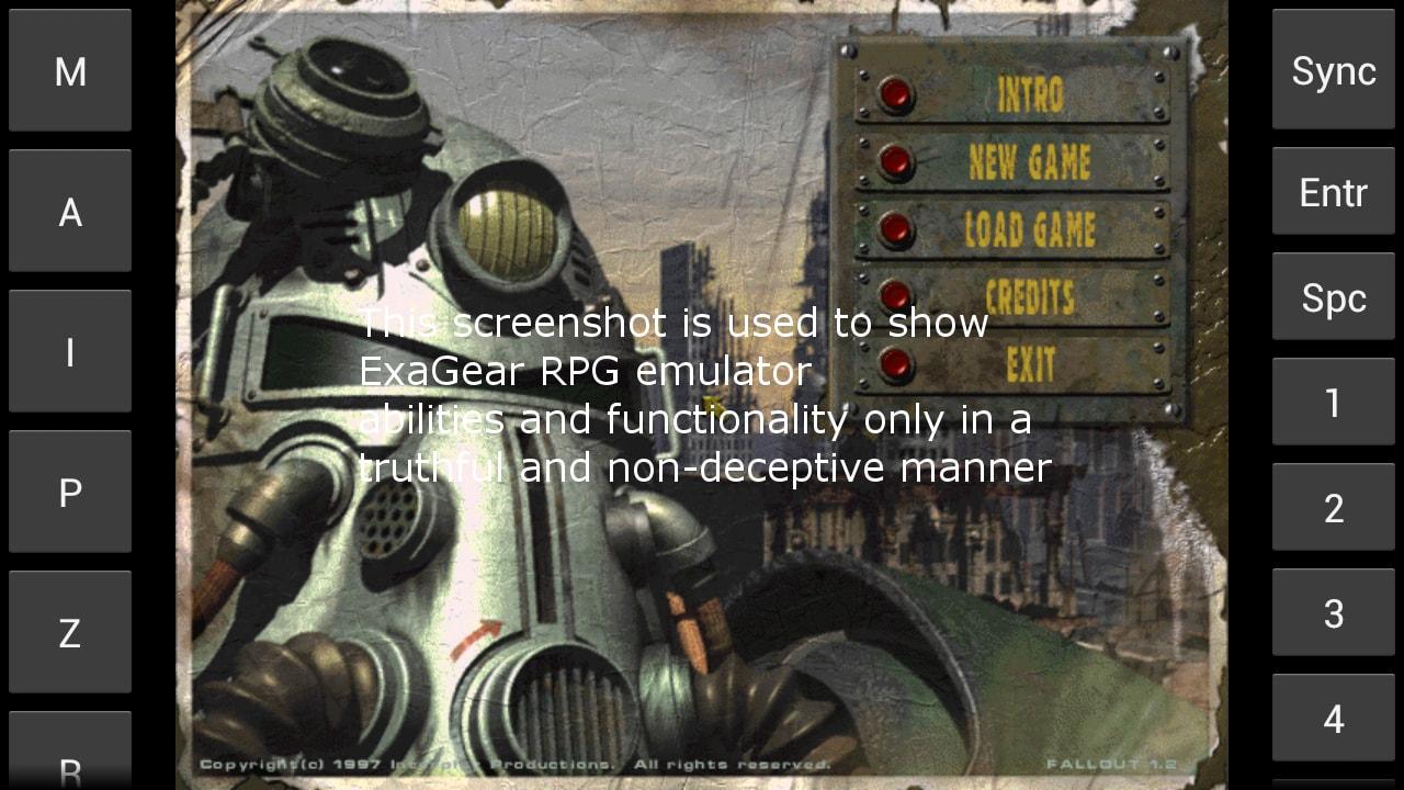 ExaGear RPG: l'app per emulare Fallout 1 e 2, Might and Magic VI, VII, VIII e altri RPG su Android (foto)