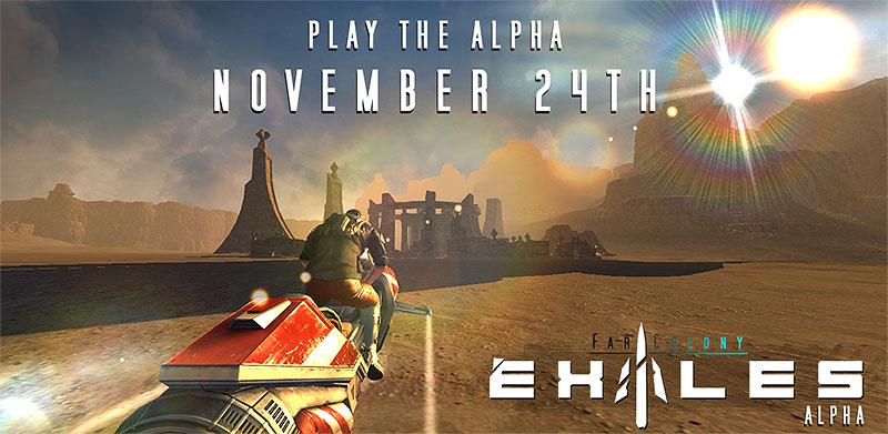 Esordisce oggi Exiles: Far Colony con il trailer ufficiale: alpha giocabile dal 24 novembre (foto e video)