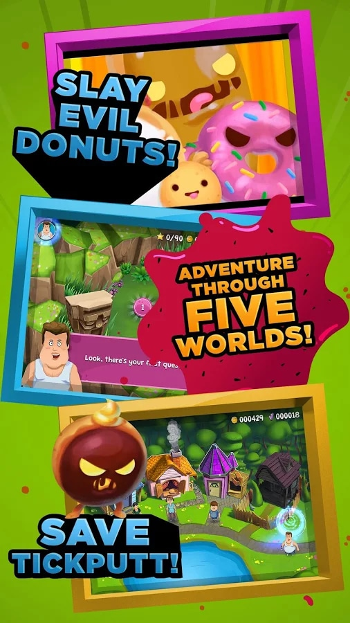 Food Battle The Game Android (1)