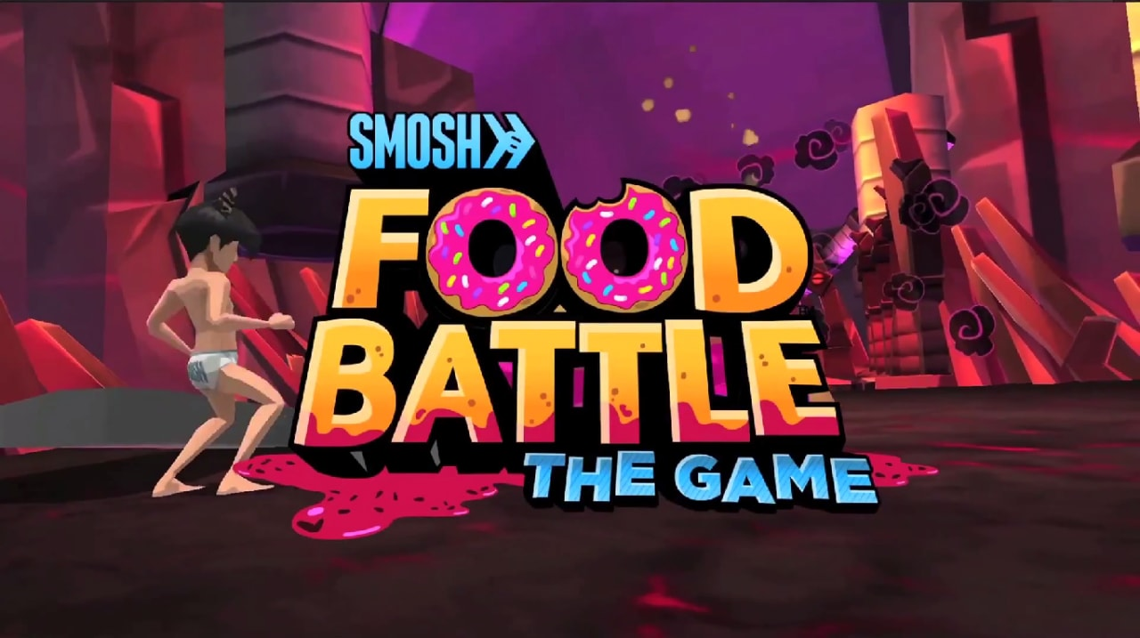 Food Battle The Game Copertina