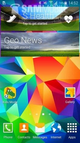 Galaxy S5 Lollipop Leaked again - 00001