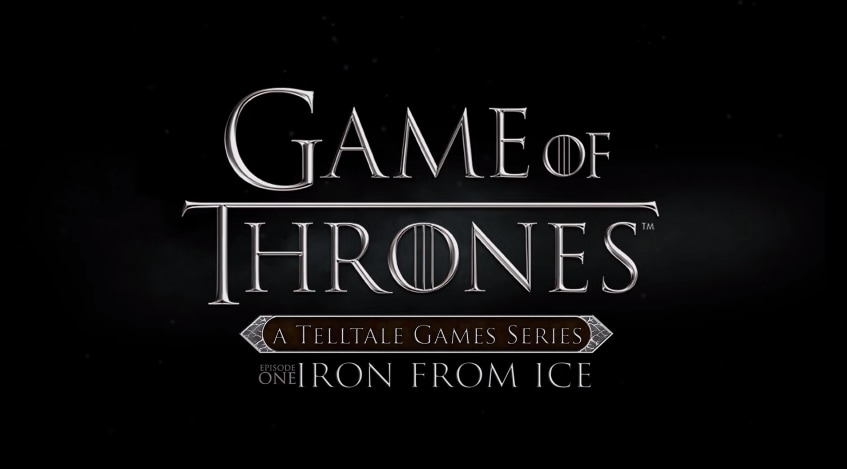 Game of Thrones Telltale COPERTINA