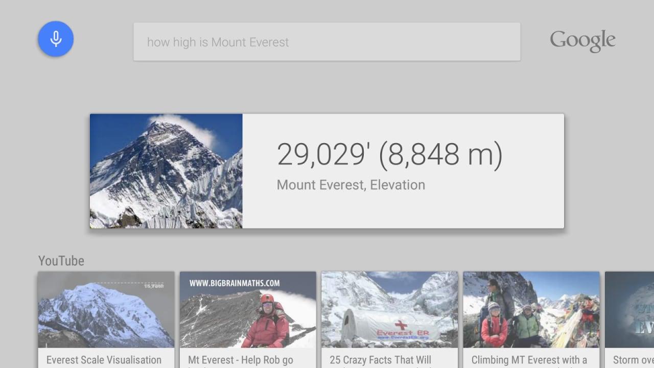 Google pubblica la Ricerca su Android TV sul Play Store e la rende più funzionale (foto)