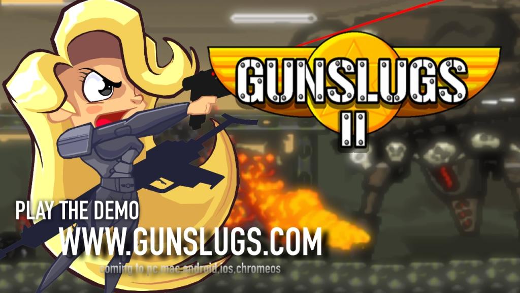 Ecco un nuovo e caotico trailer per Gunslugs 2 di OrangePixel (video)