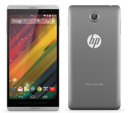 HP Slate 6 VoiceTab II è un nuovo phablet disponibile in India