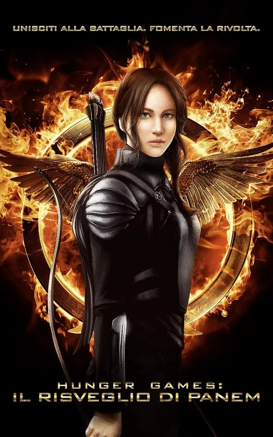 Hunger Games La Ghiandaia Copertina