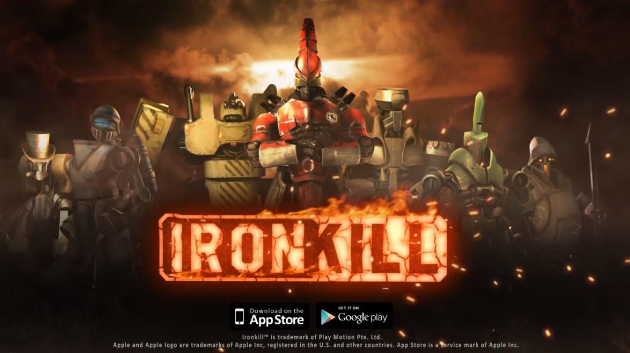 Ironkill Copertina