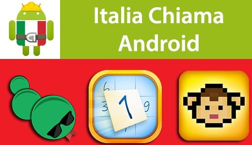 Italia Chiama Android: Snake, Sudoku Zen, Boopie The Monkey