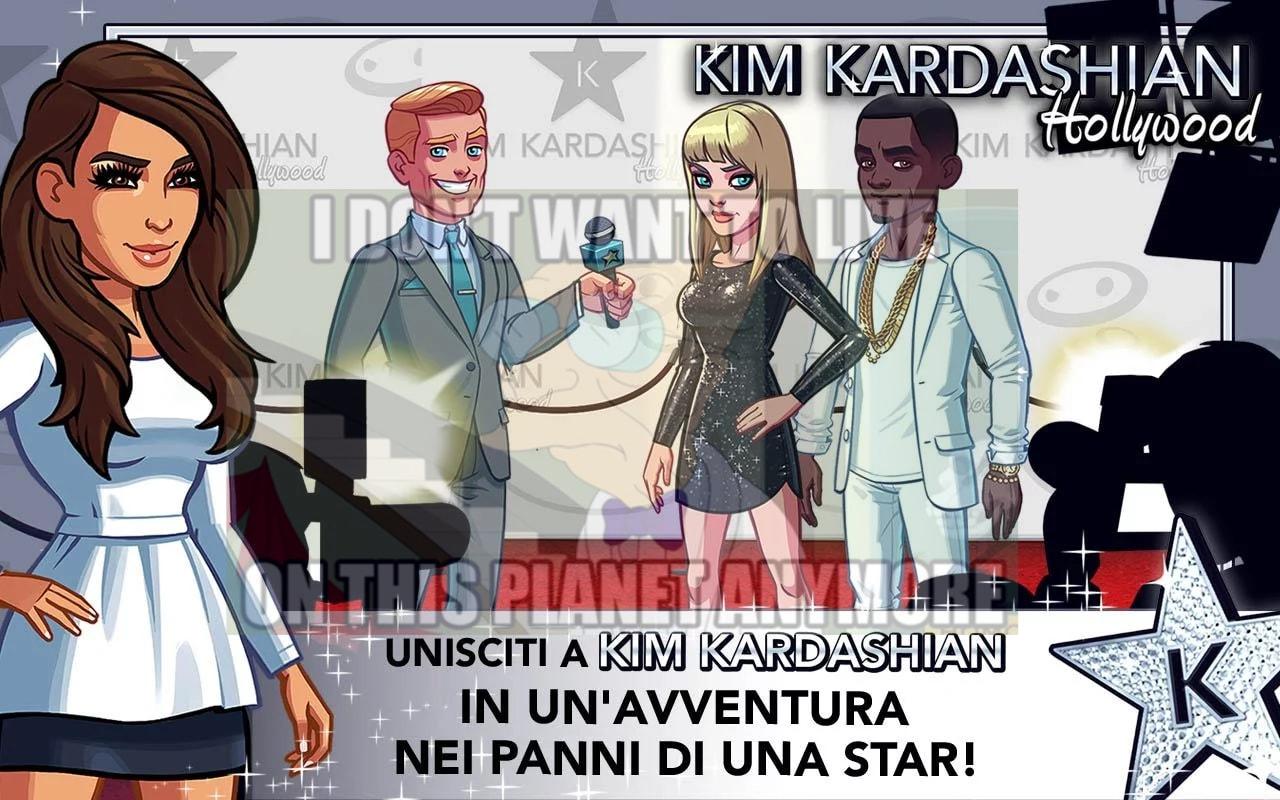 Kim Kardashian Hollywood fa guadagnare a Glu 43 milioni di dollari in 3 mesi: il mondo è un brutto posto