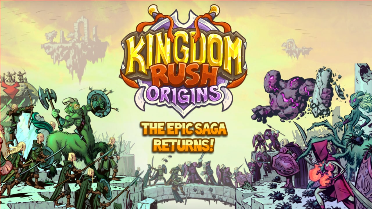 Kingdom Rush Origins Copertina