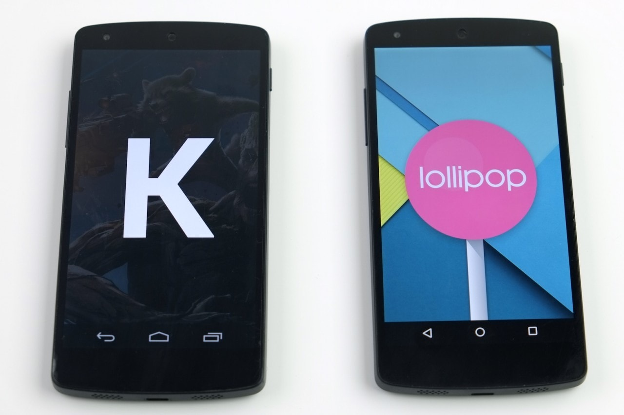 KitKat vs Lollipop final
