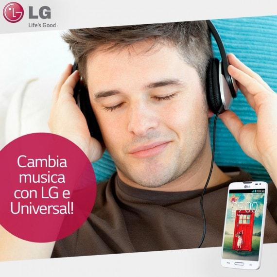 LG promo musica