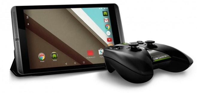 Lollipop NVIDIA Shield Tablet