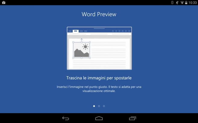 MS Word per Android 1