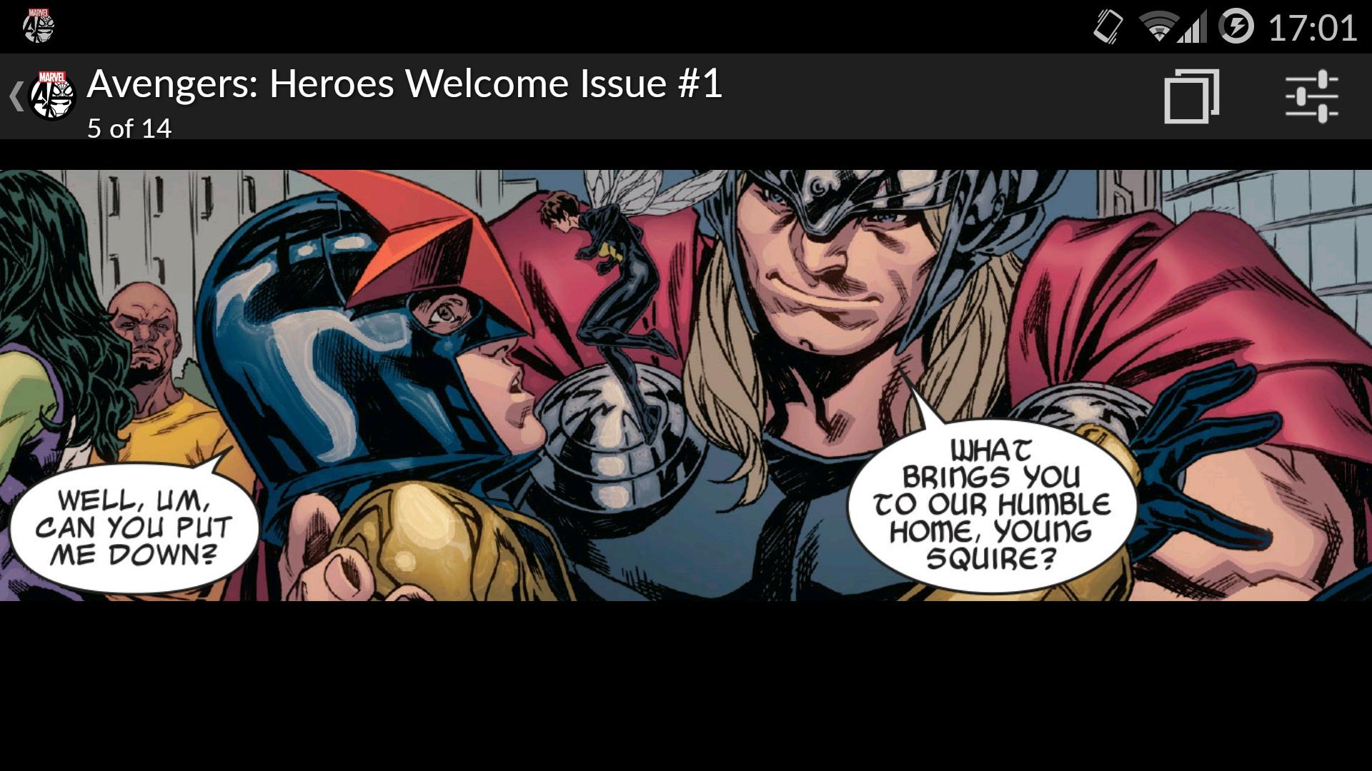 Marvel comics l 39 app ufficiale per entrare in un mondo di for Smartphone ultime uscite