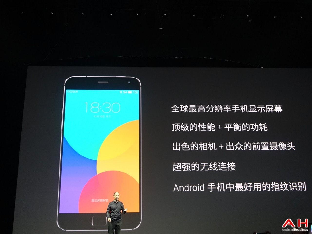 Meizu annuncia MX4 Pro, un octa-core QHD a metà tra Samsung ed Apple (foto)