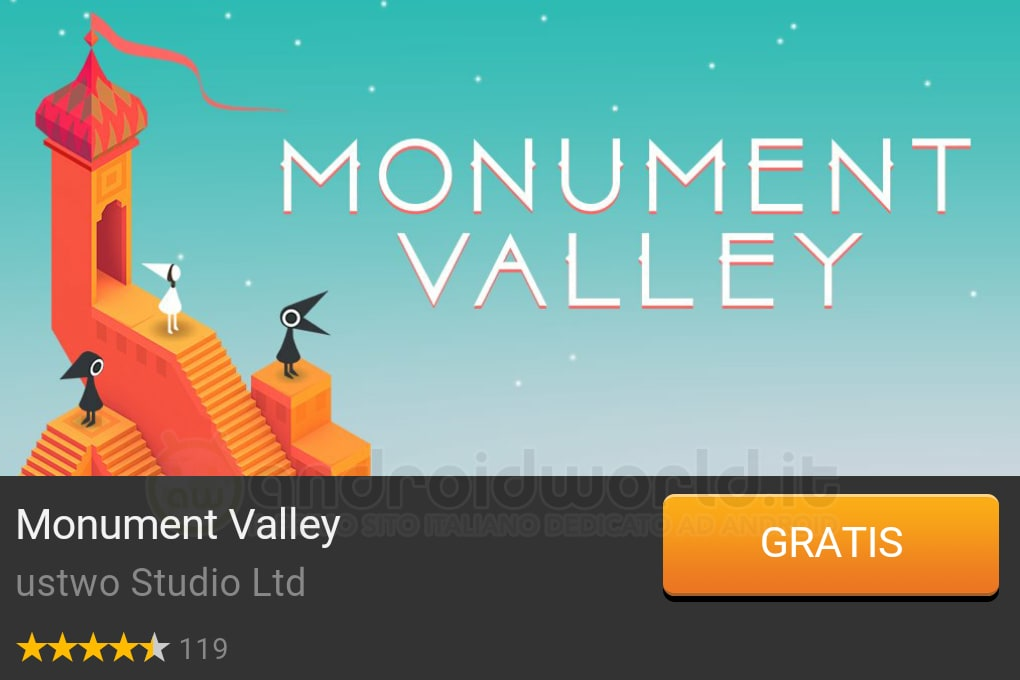 Monument Valley App Gratis del giorno Amazon