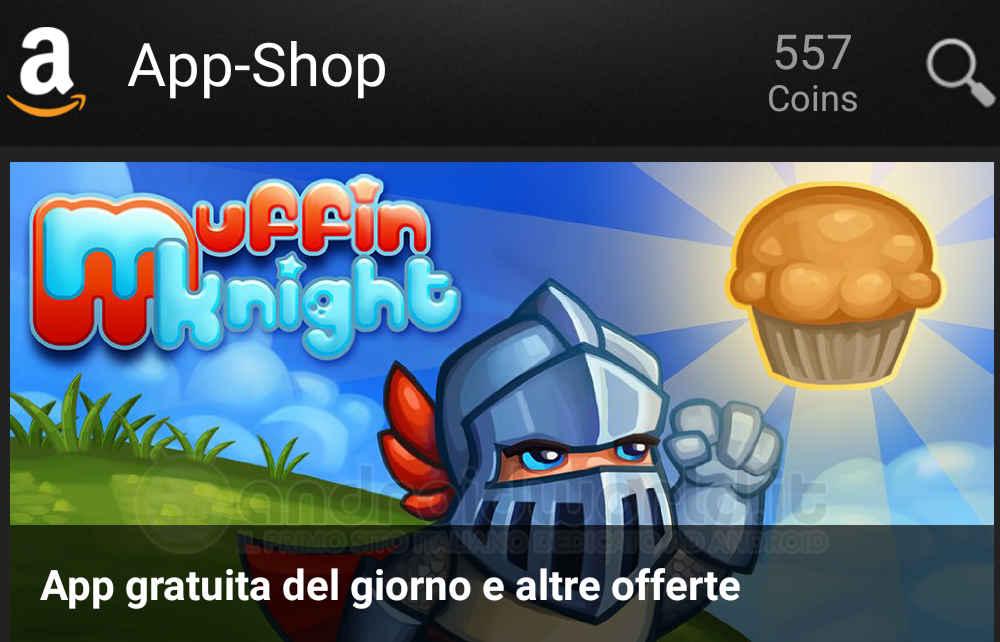 Muffin Knight Amazon App-Shop