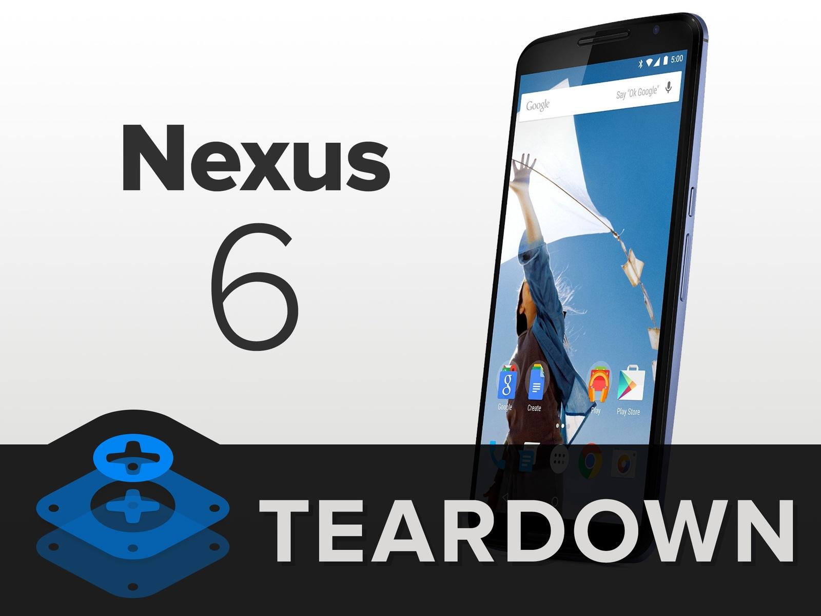 Nexus 6 Teardown 1