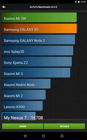 Nexus 7 (2012) Lollipop screenshot - 00001