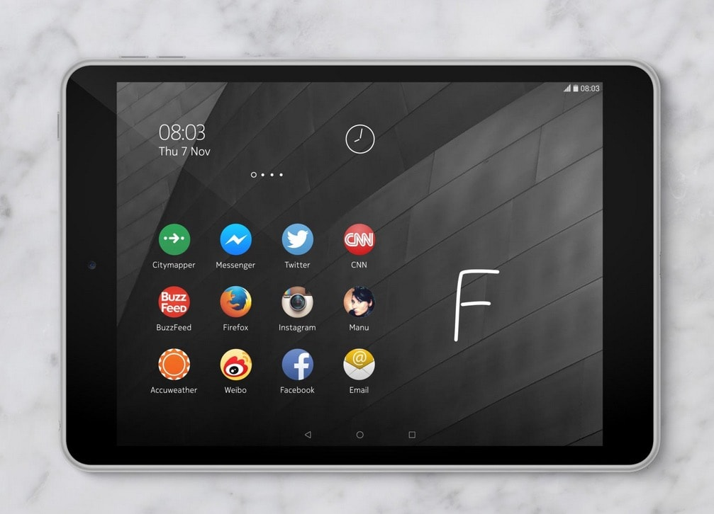 Nokia N1 ufficiale: un iPad mini con Lollipop e Nokia Z Launcher (foto, video)