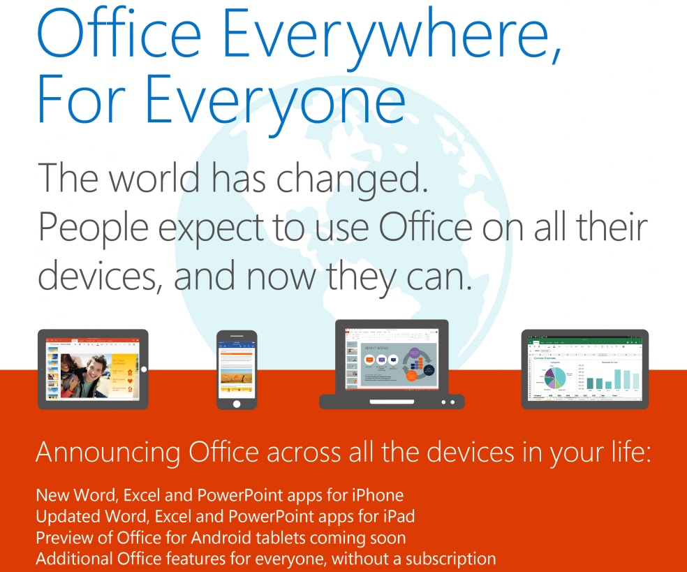 Office per tablet Android
