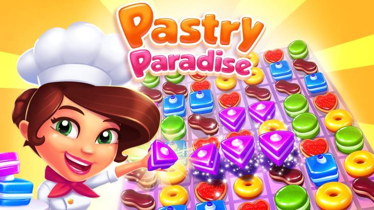 Pastry Paradise: il nuovo puzzle free-to-play di Gameloft in stile Candy Crush Saga (foto e video)