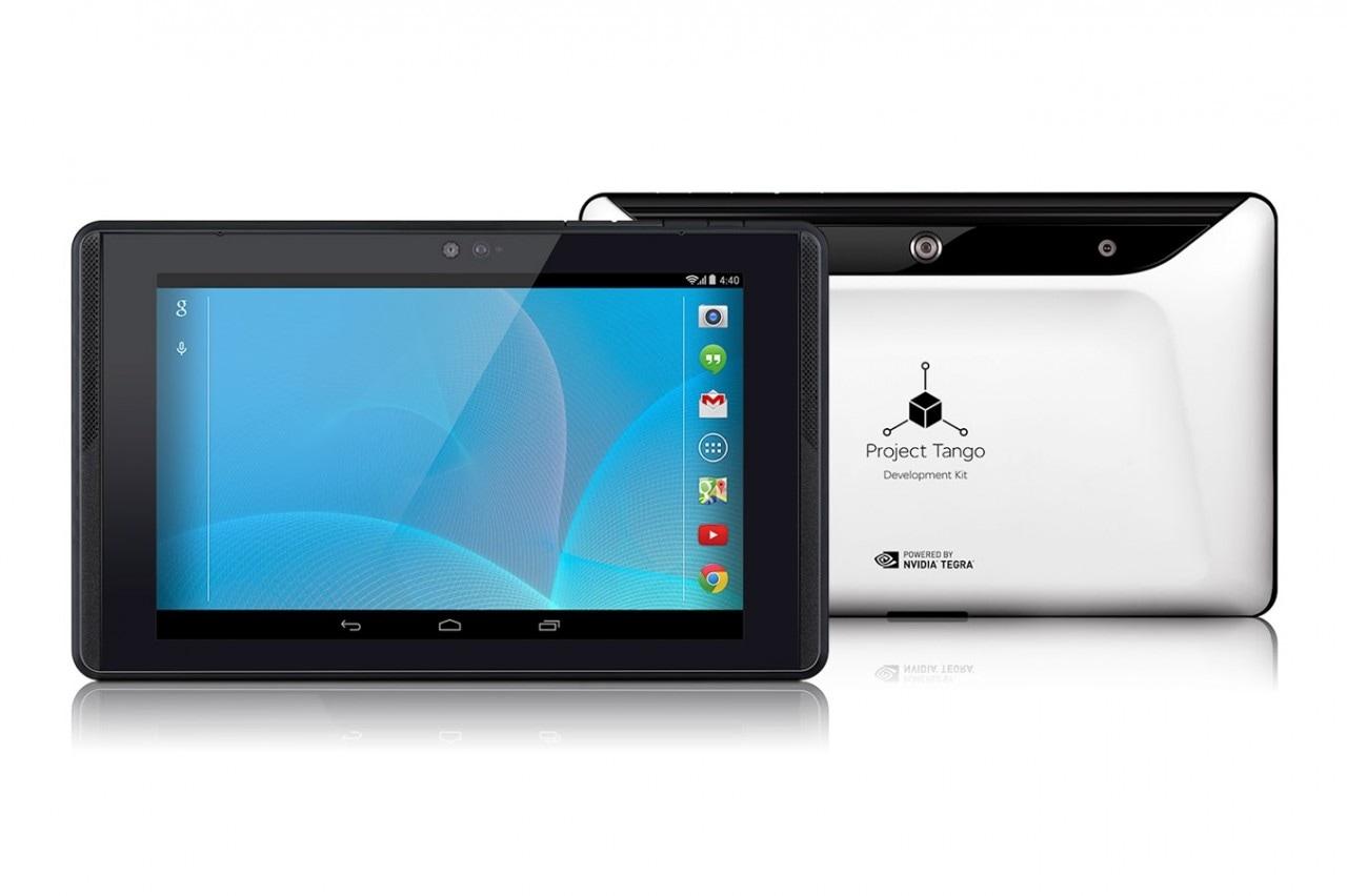 Project Tango: dal 26 agosto disponibile in Italia il tablet che mappa l'ambiente circostante