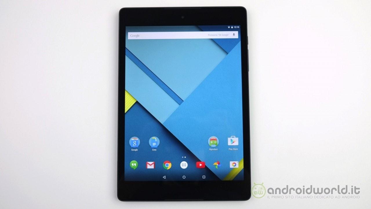Recensione HTC Nexus 9 3