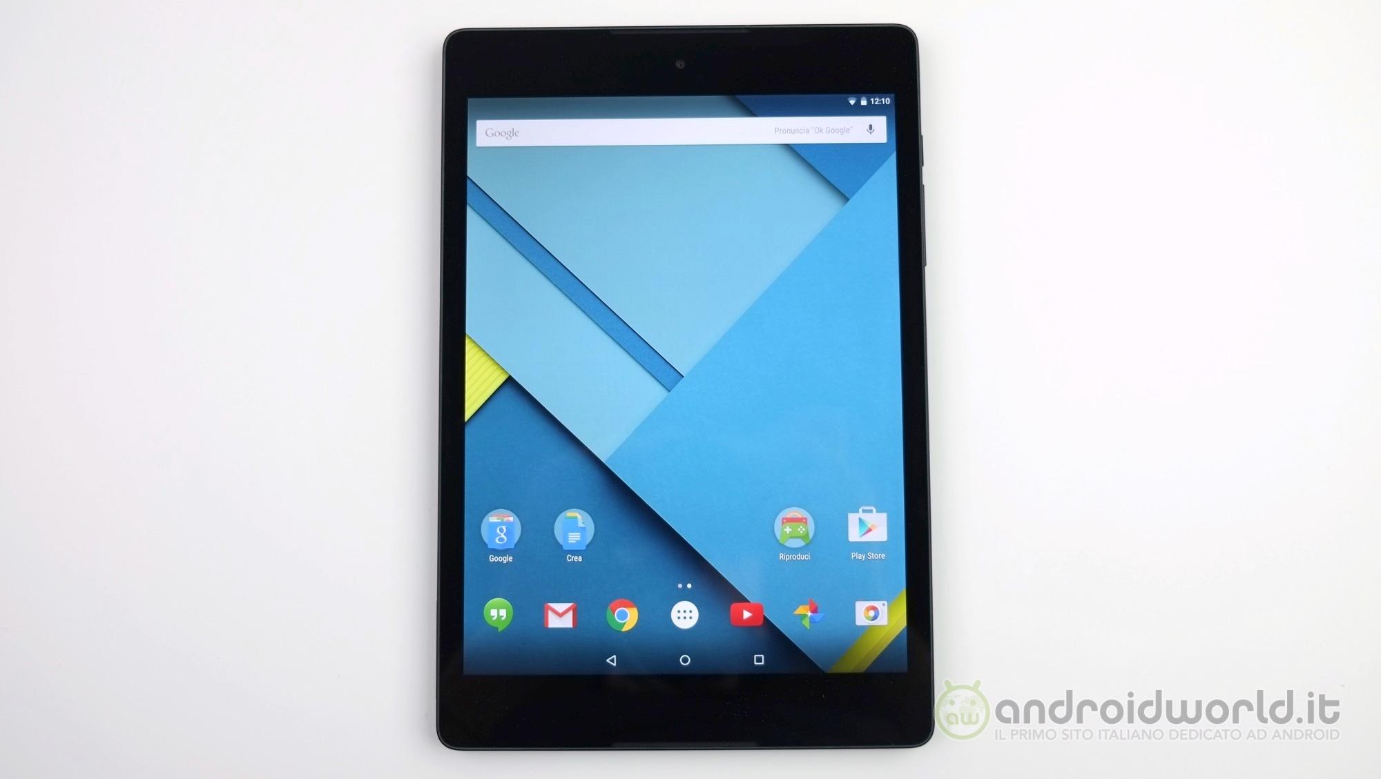 Nexus 9 LTE si aggiorna finalmente ad Android Nougat, ma con patch di sicurezza di settembre