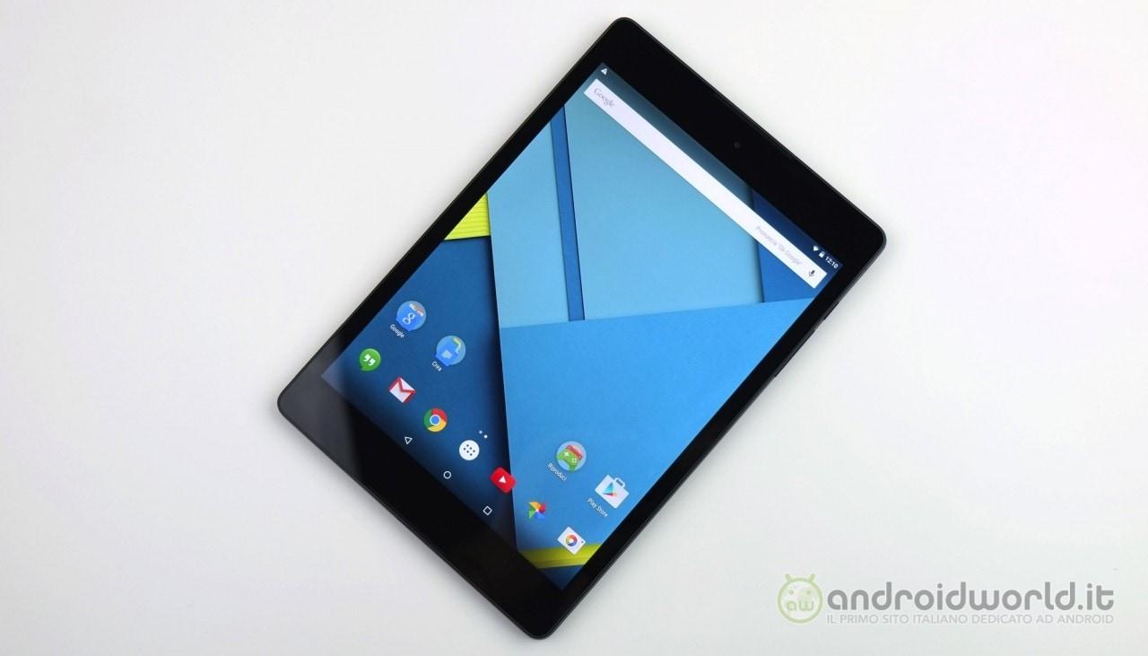 Recensione HTC Nexus 9 4