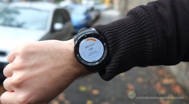 Recensione LG G Watch R 12
