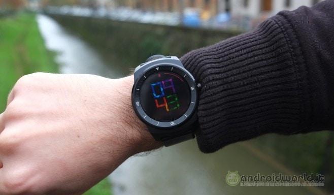 Recensione LG G Watch R 13