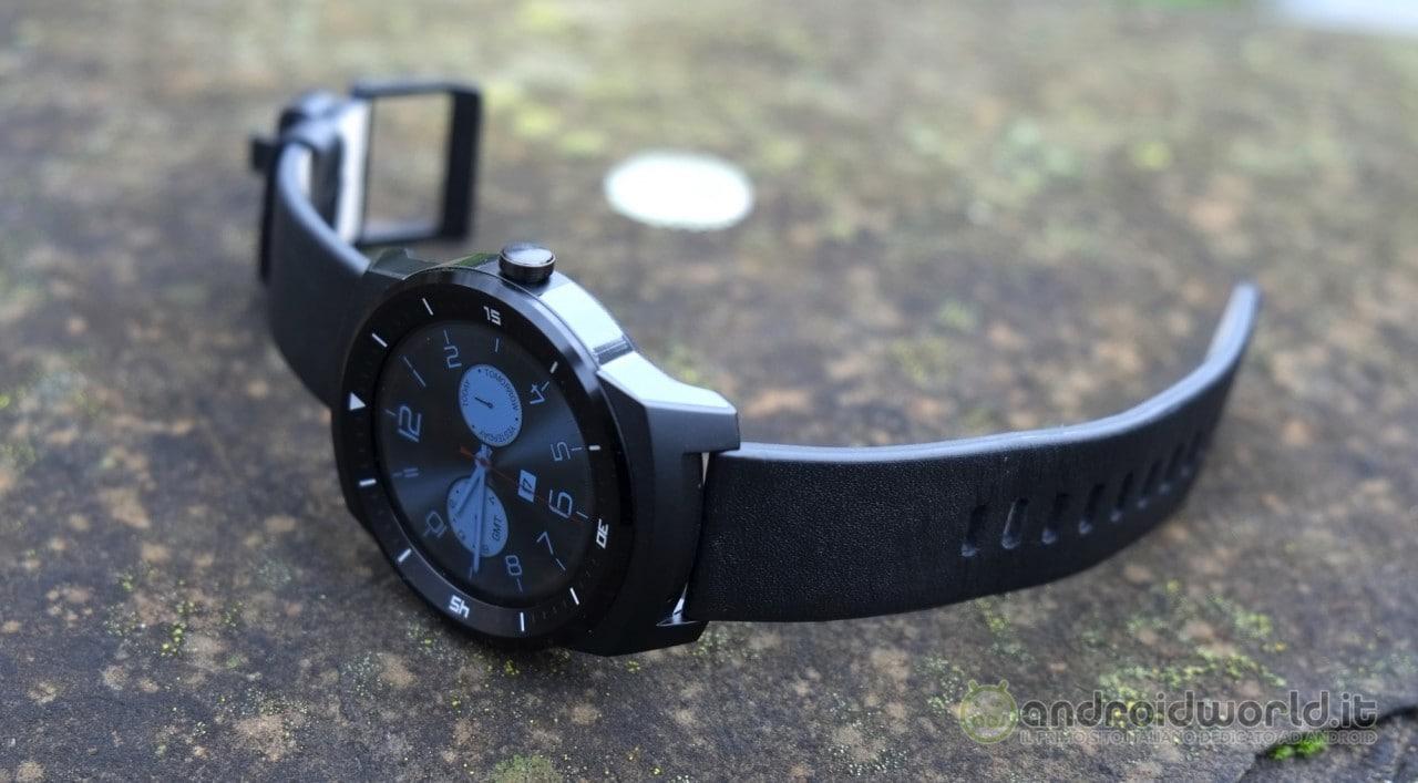 Recensione LG G Watch R 18