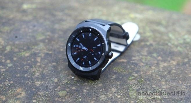 Recensione LG G Watch R 23