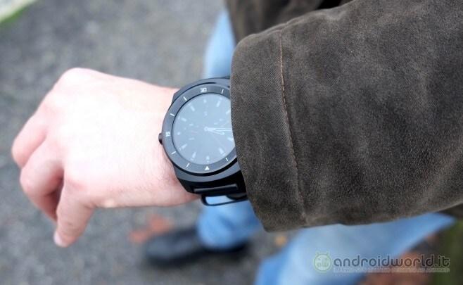 Recensione LG G Watch R 24