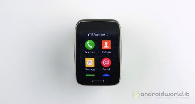 Recensione Samsung Gear S 19