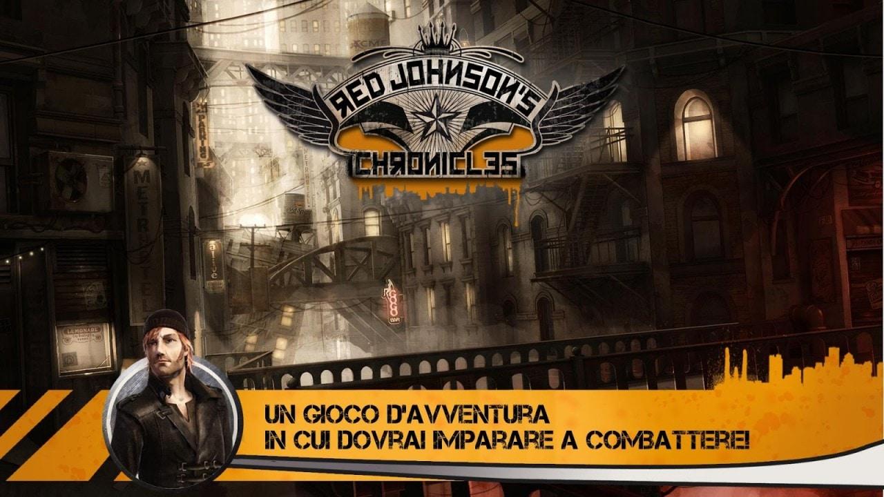 L'avventura grafica punta e clicca Red Johnson's Chronicles approda sul Play Store (foto e video)