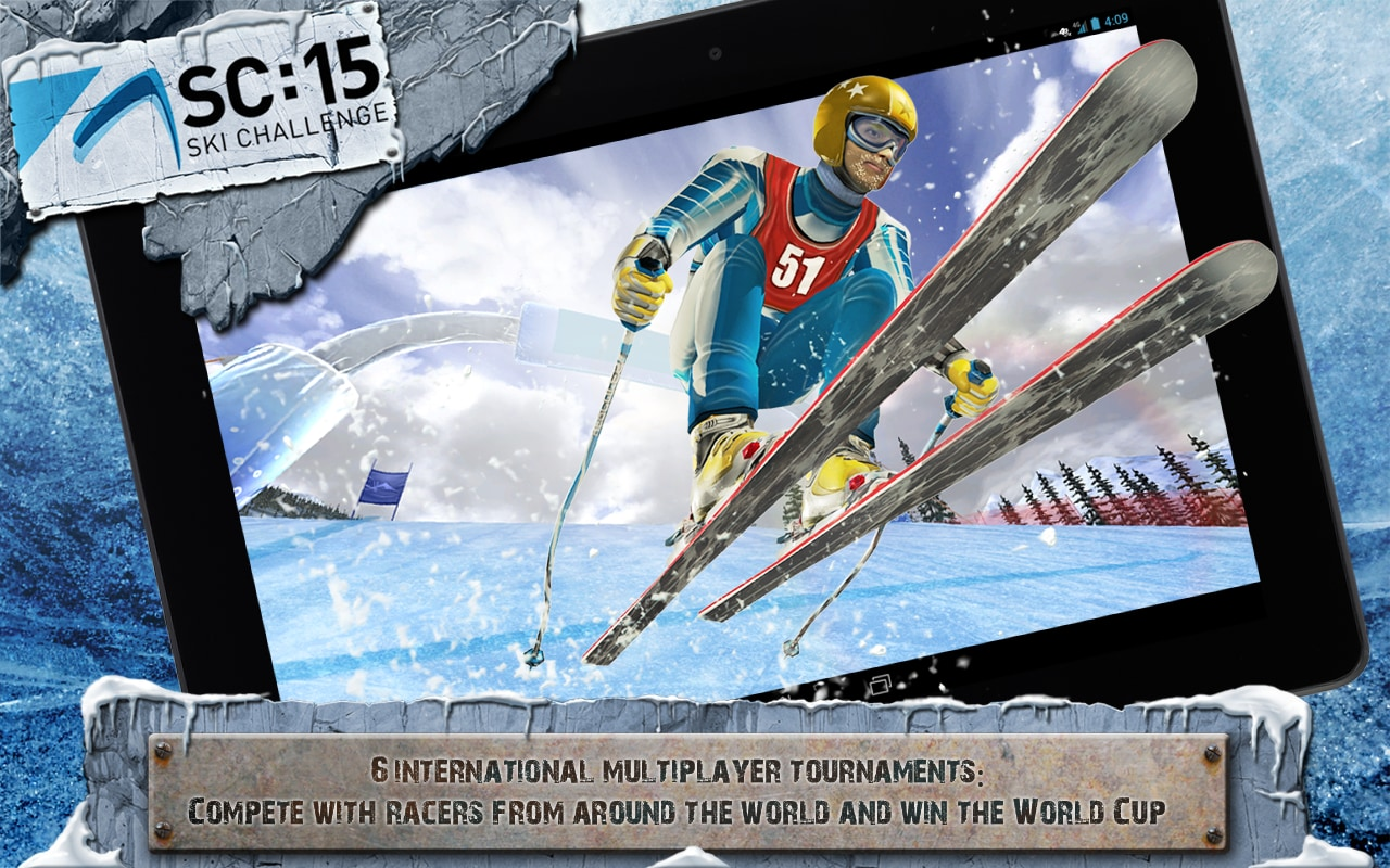 Le discipline sportive invernali prendono vita in Ski Challenge 15, disponibile sul Play Store (foto e video)